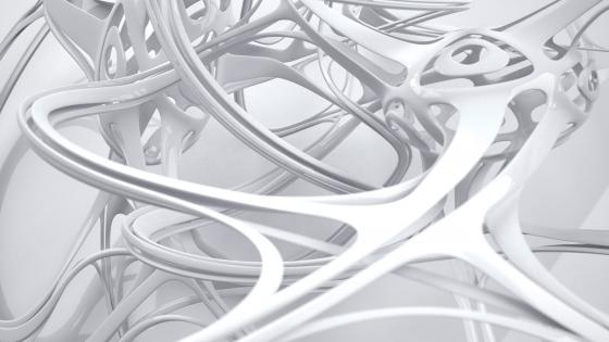 White tubulars wallpaper