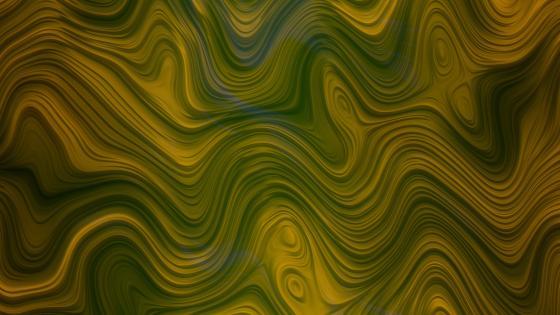 Wavy layers wallpaper