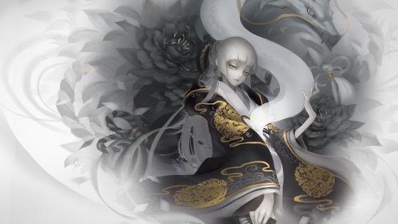 Princess Dragon wallpaper
