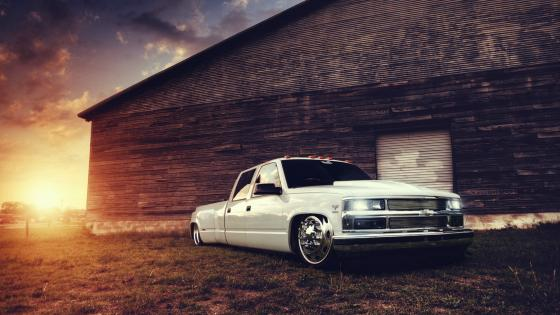 Chevy truck wallpaper