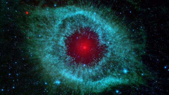 Helix nebula constellation wallpaper