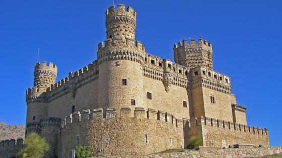 Castle of the Mendoza wallpaper