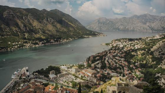 Bay of Kotor (Montenegro) wallpaper