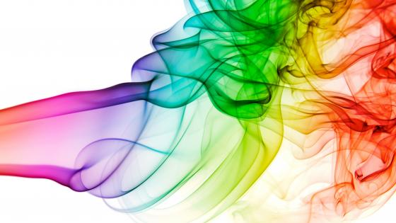 Colorful smoke wallpaper