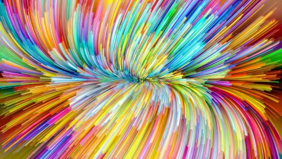 Rainbow colored abstraction wallpaper