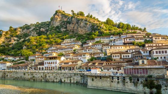 Berat, Albania wallpaper