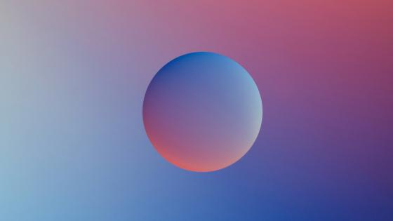 Pink and blue gradient wallpaper