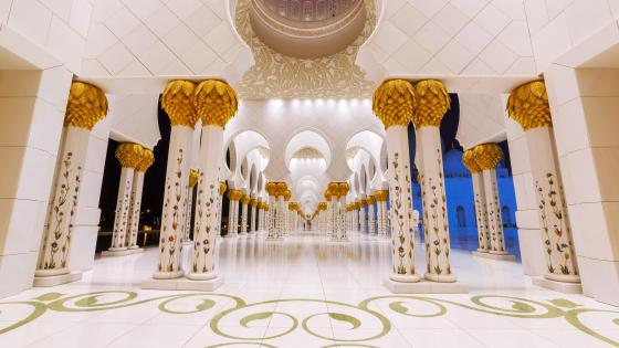 Sheikh Zayed Grand Mosque wallpaper