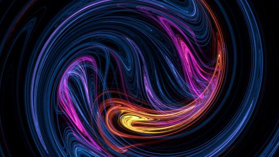 Vortex fractal wallpaper