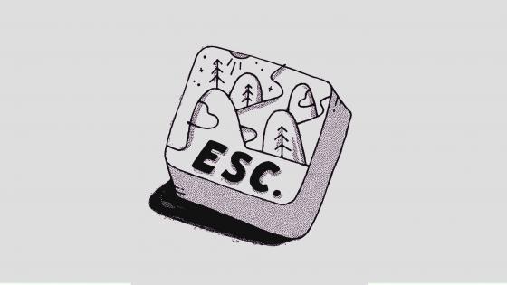 Escape wallpaper