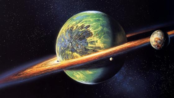 Cyborg planet wallpaper