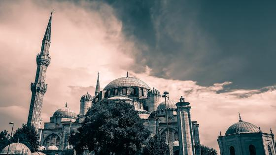 Sehzade Mosque in Istanbul wallpaper