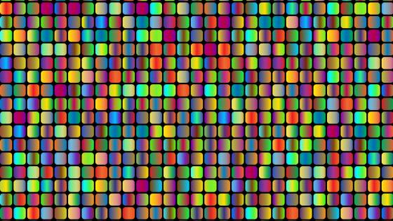Colorful mosaic design wallpaper