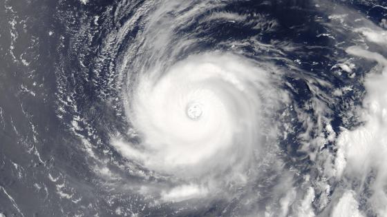 Super Typhoon Noru wallpaper