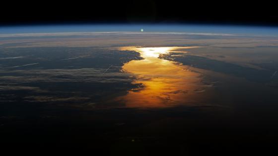 Midsummer Sunrise, Gulf of Saint Lawrence wallpaper