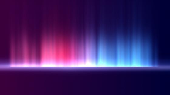 Gradient glow wallpaper