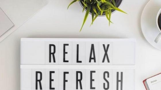 Relax refresh wallpaper