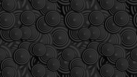 Black circles wallpaper