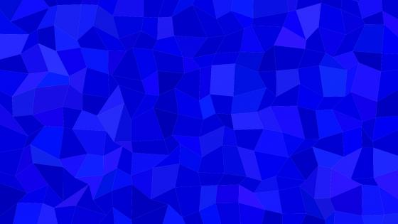 Blue polygonal material design wallpaper