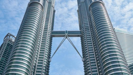 Petronas Towers Sky Bridge wallpaper