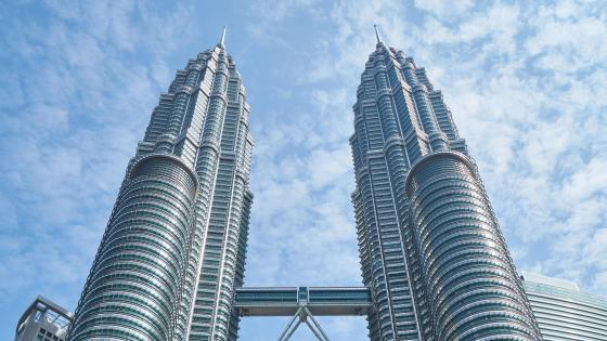 Petronas Towers Top Floors wallpaper