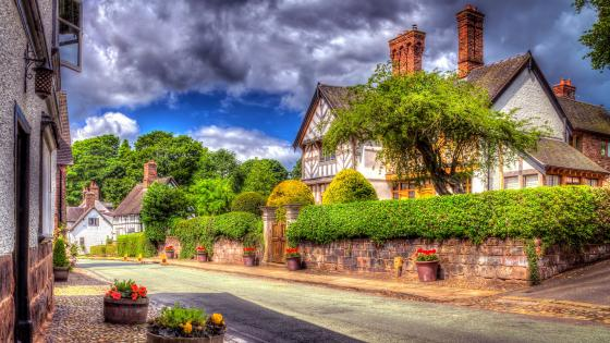 Little Budworth, England wallpaper