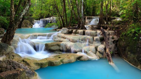 Erawan National Park, Erawan Falls wallpaper