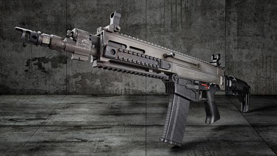 Machine gun wallpaper