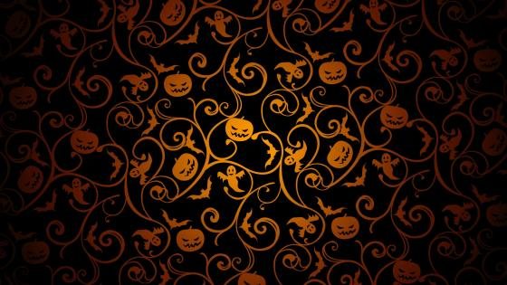 Halloween pattern 🎃 wallpaper