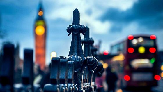 Bokeh Big Ben wallpaper