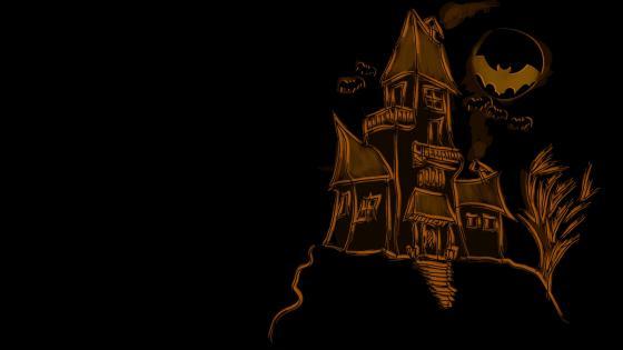 Halloween drawing wallpaper