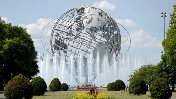 Unisphere in Flushing Meadows-Corona Park wallpaper