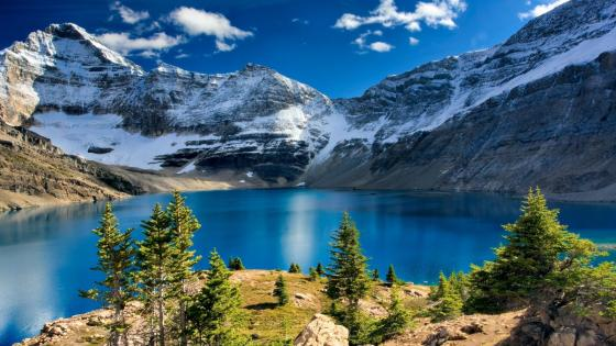 Lake O'Hara (Yoho National Park, Canada) wallpaper