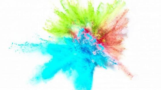 Colorful explosion wallpaper