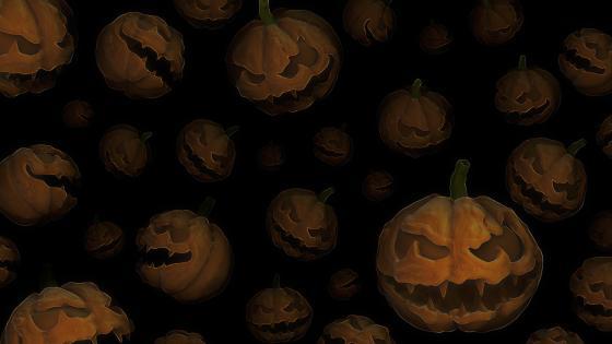 Sinister pumpkins wallpaper