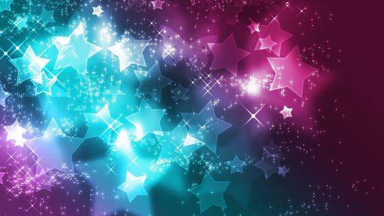 Little stars wallpaper