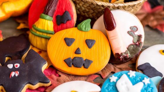 Halloween biscuits 🎃 wallpaper