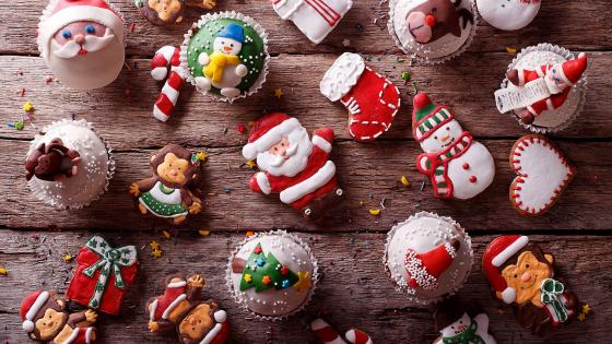 Sweetness Christmas Decorations wallpaper