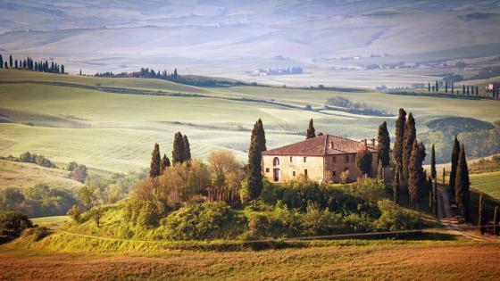 Villa Podere Belvedere (Tuscany) wallpaper