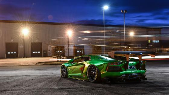 Lamborghini Aventador LP700 Liberty Walk wallpaper