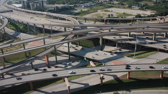 High Five Interchange in Dallas, TX wallpaper