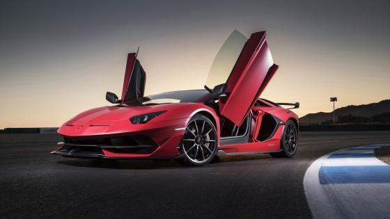 Lamborghini Aventador SVJ wallpaper