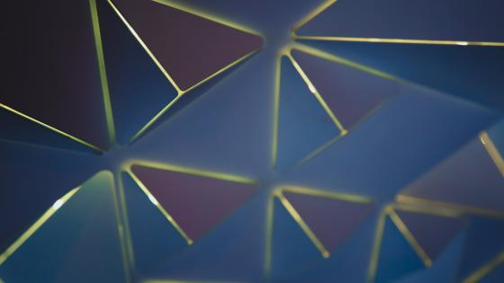 Abstract triangles wallpaper