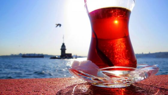 Turkish tea wallpaper
