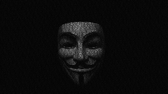 Anonymus hecker wallpaper
