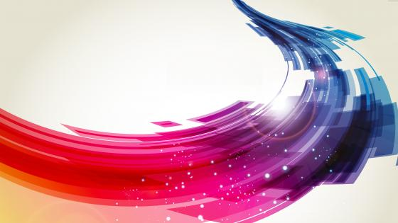 Colorful way wallpaper