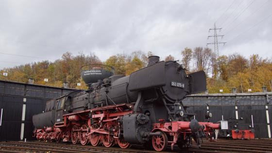 Steam locomotive wallpaper
