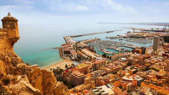 Port of Alicante wallpaper