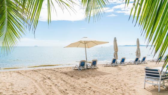 Beach Lounge wallpaper