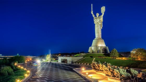 The Motherland Monument (Kiev) wallpaper